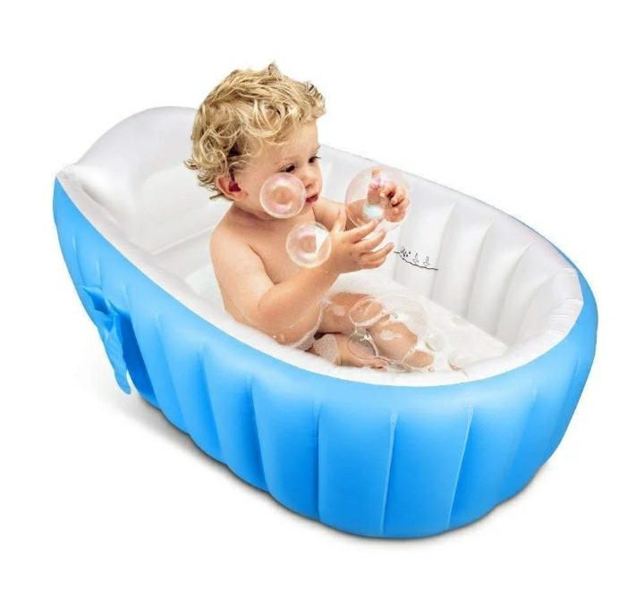 Надувная ванночка для купания Intime Baby Bath Tub