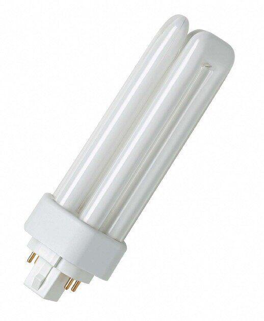 Лампа компактная DULUX T/E 26W/830 1800 Lm цоколь GX24q-3 , ОСРАМ [4050300342306]
