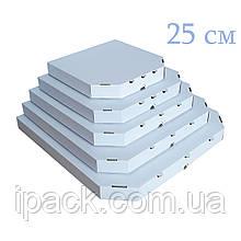 Коробка для пиццы, 25 см белая, 250*250*35, мм