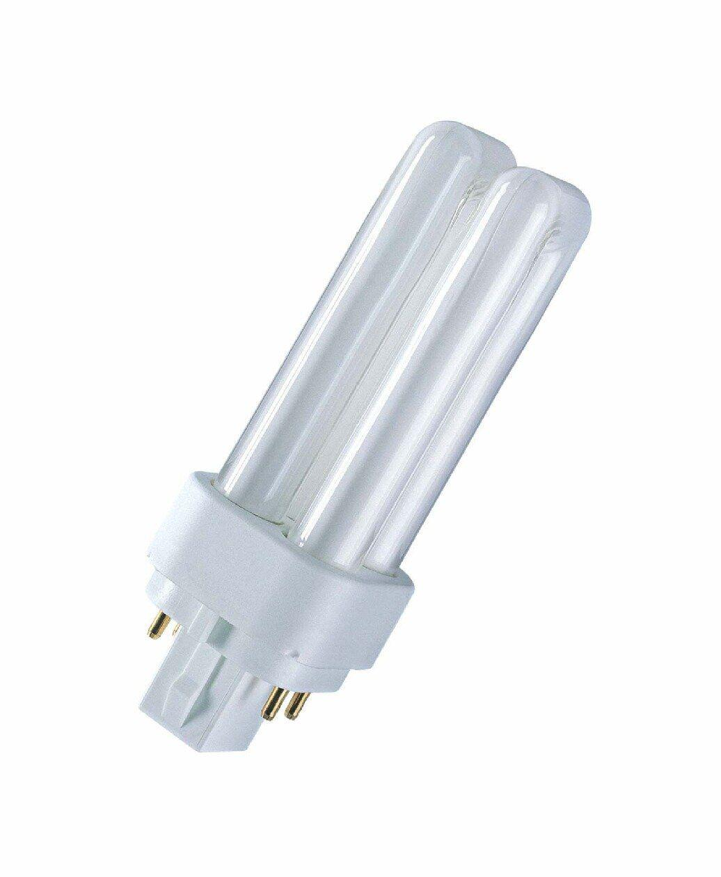 КЛЛ 26W/840 G24q-3 люминесцентная компактная лампа для ЭПРА DULUX D/E , ОСРАМ [4050300020303]