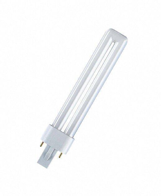 Лампа G23 9W/840 компактная DULUX S , ОСРАМ [4050300010588]