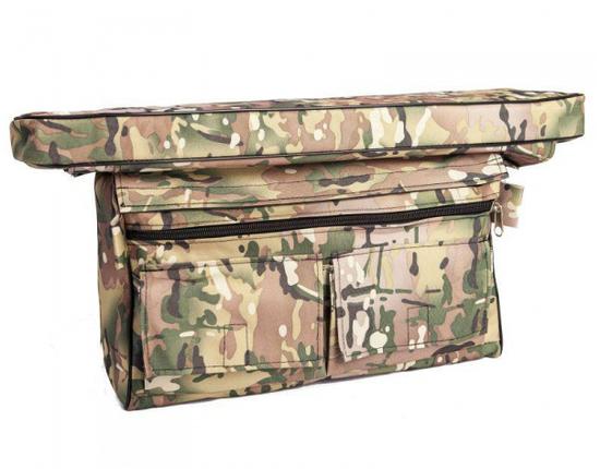 Мягкое сидение + сумка рундук 650*200*50 Aqua-Storm камуфляж, фото 2