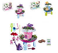 Домик 2 вида, свет, домик, мебель, семена и грунт для выращивания собственного сада, аксес в кор.28*(BK1801/2)