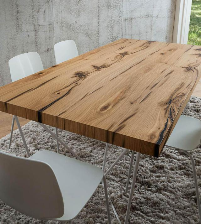 Квадратные столешницы для кафе баров из массива дерева, фото 1