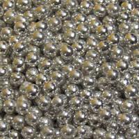 Посыпка сахарные шарики серебро 3 мм 10 грамм