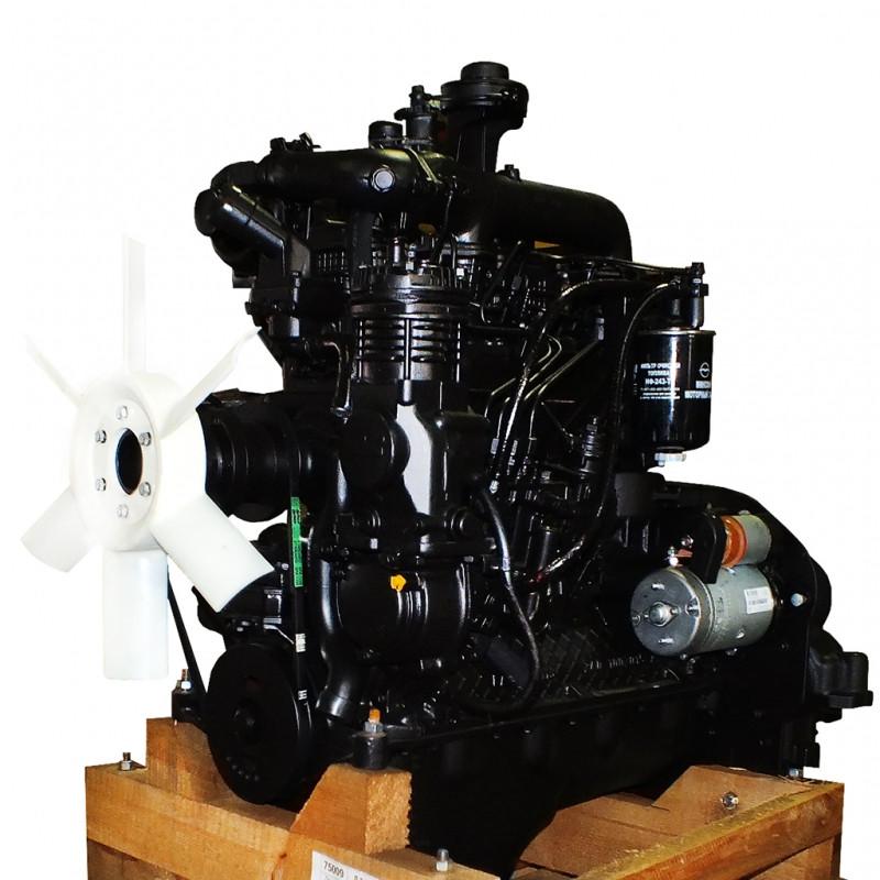 Двигун Д245.12с-231М (108,8 л. з) (ЗІЛ-130) (полнокомп) (пр-во ММЗ) Д-245.12 З-231М