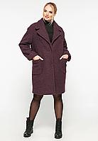 Пальто букле короткое Ксюша р. 48-58, фото 1