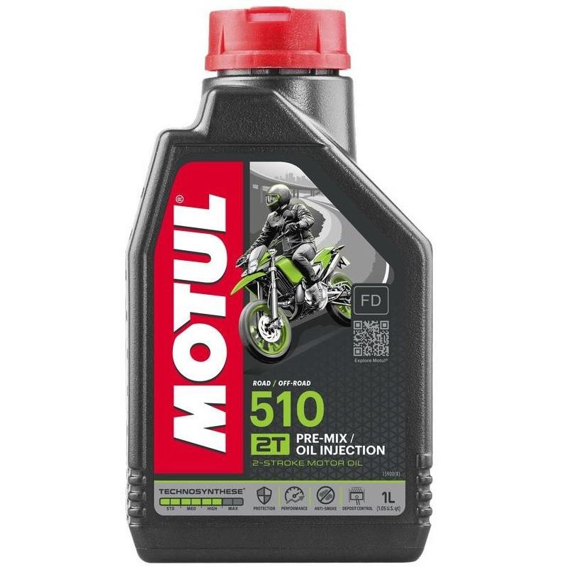 Масло для 2-х тактных двигателей Technosynthese MOTUL 510 2T 1л. 104028/837411