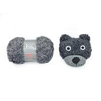 Набор для вязания Klaus Koch Kollektion, медведь серый №0001