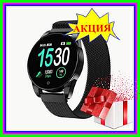 Смарт часы Smart Watch M12 Bluetooth, водозащитные фитнес часы IPS цветной экран, смарт часы + подарок