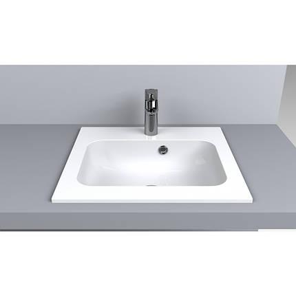 Раковина для ванной Miraggio Della 600 (матовый или глянец/ 60*45*13 см), фото 2