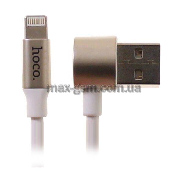 USB кабель Hoco U18 2in1 Golden hat MicroUSB+Lightning white