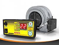 Набор автоматики ATOS для твердотопливных котлов (контроллер+турбина)