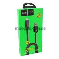 USB кабель Hoco UPL12 Plus MicroUSB 1.2 m. black, фото 2