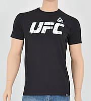 """Мужская футболка """"Премиум"""" UFC Черный"""