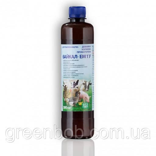 Байкал ЭМ-1У добавка кормовая пробиотическая для животноводства 500 мл