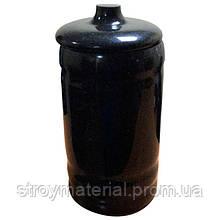 Гранитная урна для праха 200*150 черная