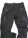 """Брюки тактические """"Комбат - USA"""" ткань рипстоп черный, фото 3"""