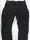 """Брюки тактические """"Комбат - USA"""" ткань рипстоп черный, фото 6"""