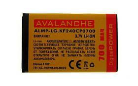Аккумулятор Avalanche P LG KF240/KF300 (750mAh)