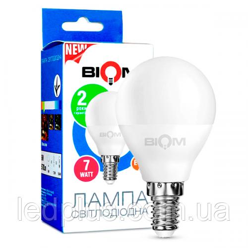 Светодиодная лампочка Е14 7Вт 220В 4500К ВТ-566