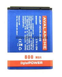 Аккумулятор Avalanche Nokia BL-5B (3220, 800mAh)