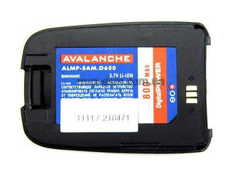 Аккумулятор Avalanche Samsung D600 (800mAh) black