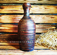 Гончарная Бутылка для вина 0,7-0,85 / Гончарна Пляшка для вина 0,7-0,85