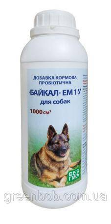 Байкал ЭМ-1У добавка кормовая пробиотическая для собак 1 л