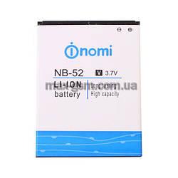 Аккумулятор Original Nomi NB-52 (1750mAh)