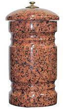 Погребальная урна для праха 300*150 красная