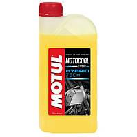 Готовая к использованию охлаждающая жидкость для мотоциклов MOTUL Motocool Expert -37°C 1л. 105914/818701