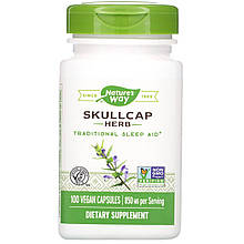 "Шлемник Nature's Way ""Skullcap Herb"" 850 мг (100 капсул)"