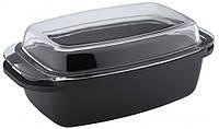 Завтра - 20 % Утятница 8 л Vinzer Cast form Classic 89421 с антипригарным покрытием для духовки