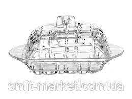 Маслёнка стеклянная с крышкой