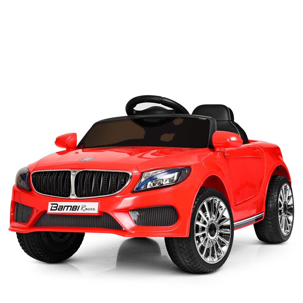 Детский электромобиль Bambi M 3987EBLR-3 BMW M5 красный