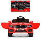 Детский электромобиль Bambi M 3987EBLR-3 BMW M5 красный, фото 3