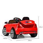 Детский электромобиль Bambi M 3987EBLR-3 BMW M5 красный, фото 6