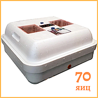 """Инкубатор """"Рябушка"""" на 70 яиц (аналоговый терморегулятор) ручной переворот, фото 1"""