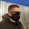 Защитная маска для лица (10 шт.), многоразовая / Маска черная + ПОДАРОК, фото 6