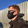 Защитная маска для лица (10 шт.), многоразовая / Маска черная + ПОДАРОК, фото 8
