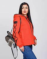 Женская куртка короткая спортивного стиля  рр 42-52
