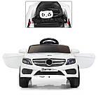 Детский электромобиль Bambi M 3981EBLR-1 Mercedes S63 AMG белый, фото 3