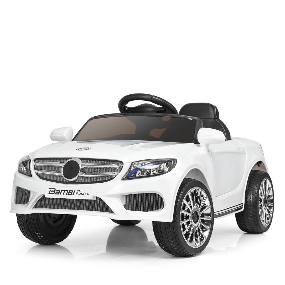 Детский электромобиль Bambi M 3981EBLR-1 Mercedes S63 AMG белый
