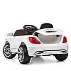 Детский электромобиль Bambi M 3981EBLR-1 Mercedes S63 AMG белый, фото 5