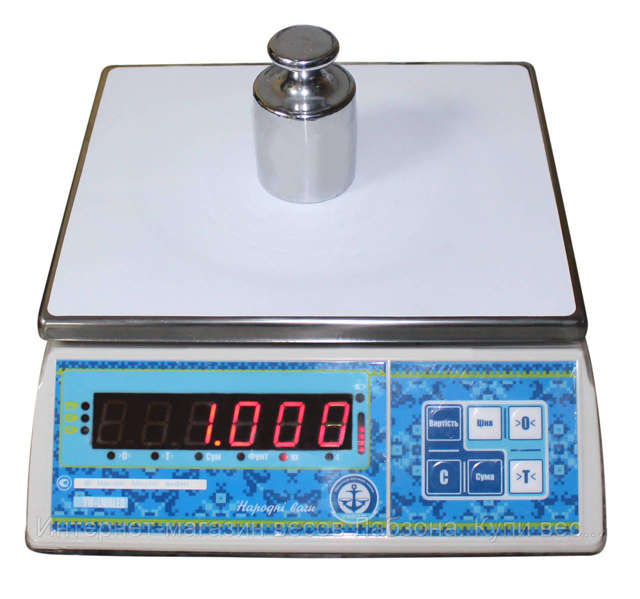 Весы фасовочные ВАГАР