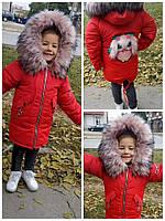 Зимняя куртка для девочки очень теплая и модная 2020