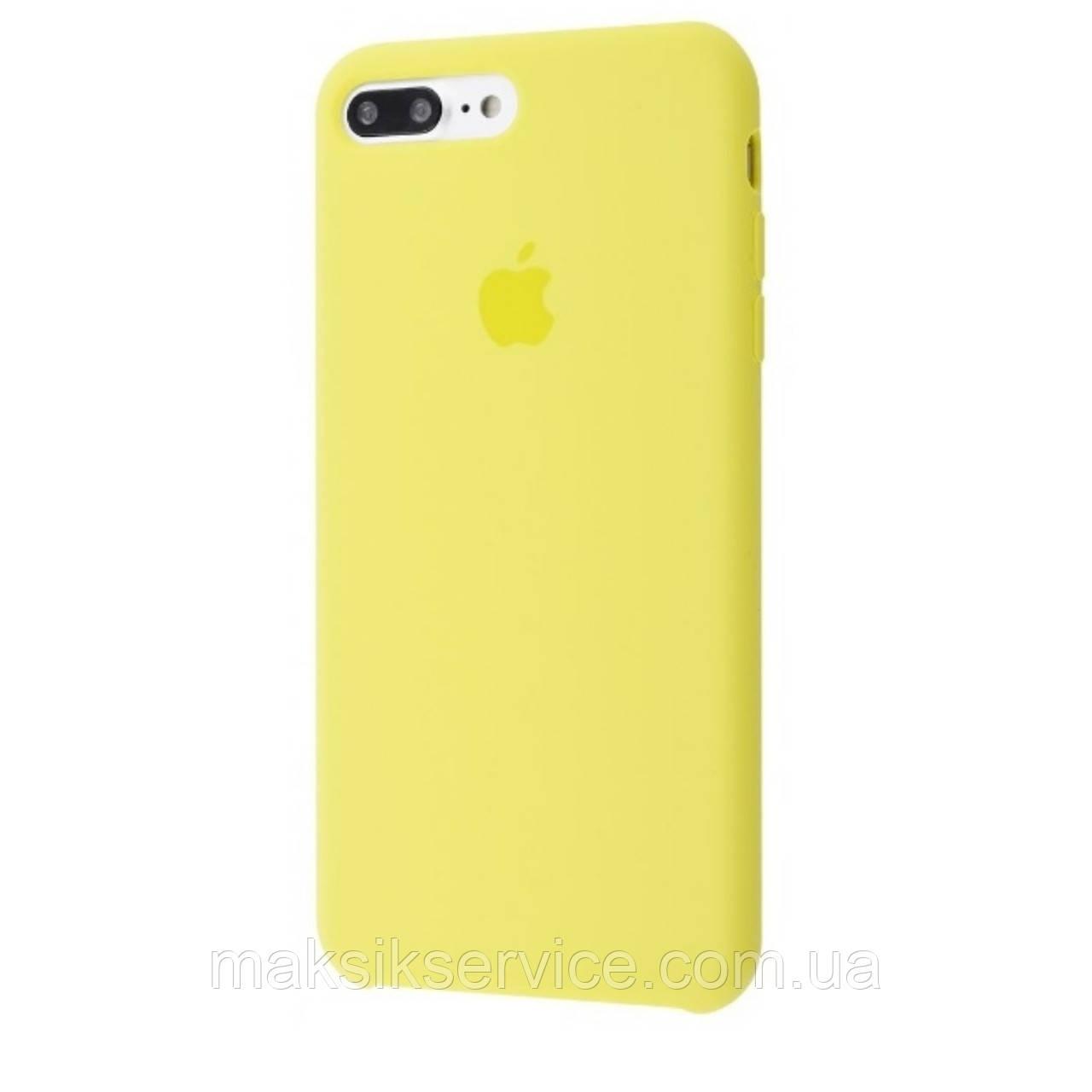 Чехол Silicone Case iPhone 7 Plus/8 Plus lemonade