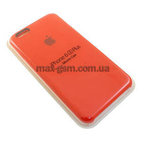Накладка Original Apple Silicone Case iPhone 6+ (14) red