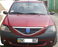 Реснички Dacia Logan  ( 2005 - 2008 г.в.)
